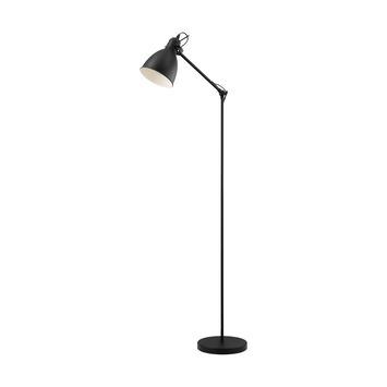 Eglo vloerlamp Priddy E27 40 W zwart