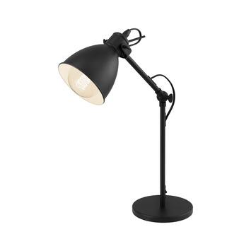 Eglo tafellamp Priddy 425 mm E27 zwart
