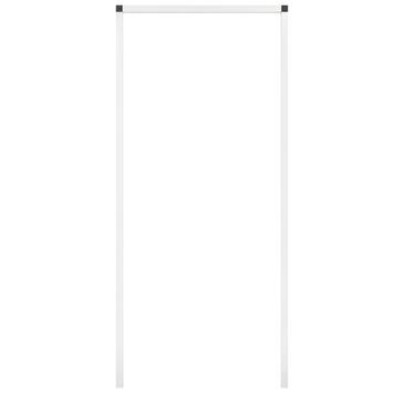 Fikszo inbouwkader voor hordeur aluminium wit 240x100 cm