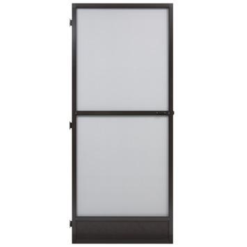 Fikszo hordeur Solide aluminium bruin 235x100 cm