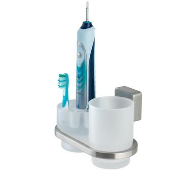 Tiger Impuls beker- en tandenborstelhouder inox