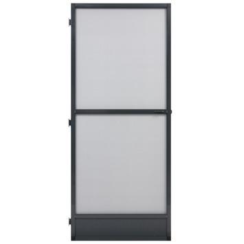 Fikszo hordeur Solide aluminium antraciet 235x100 cm
