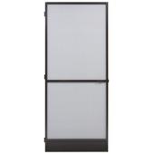 Porte-moustiquaire  Standard Fikszo aluminium 235x100 cm brun