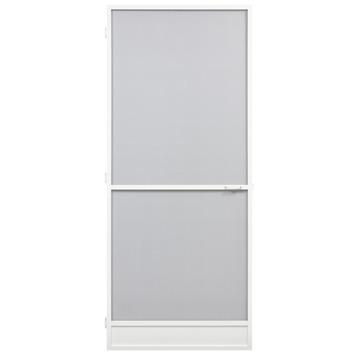 Porte moustiquaire Standard Fikszo aluminium 235x100 cm blanc