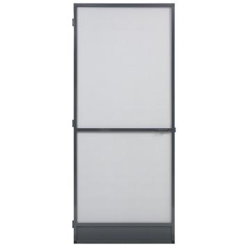 Fikszo hordeur Standaard aluminium antraciet 235x100 cm
