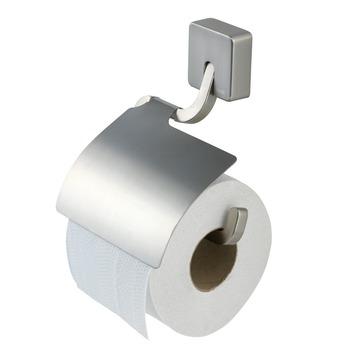 Porte-papier WC avec couvercle Impuls Tiger inox