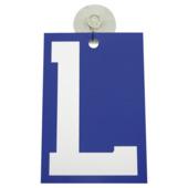 Carpoint L-plaatje met zuignap