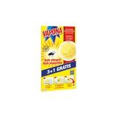 Vapona window sticker jaune 3+1 pièces