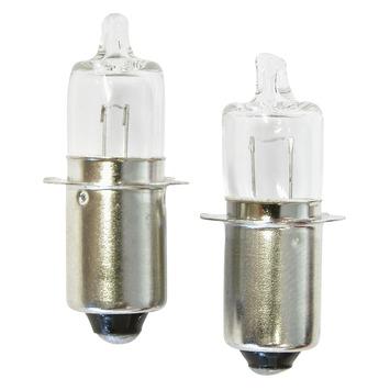 Ampoule halogène de réserve 6 V Dresco 2 pièces