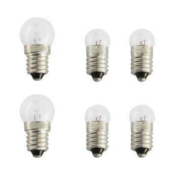 Dresco reservelampjes voor 2 stuks + achter 4 stuks