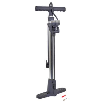 Pompe vélo avec manomètre 52 cm Dresco