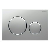 Plaque de commande Sigma 20 Geberit mat pour réservoir Systemfix