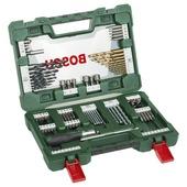 Jeu de mèches et d'embouts V-line avec tournevis à cliquets Bosch 91 pièces