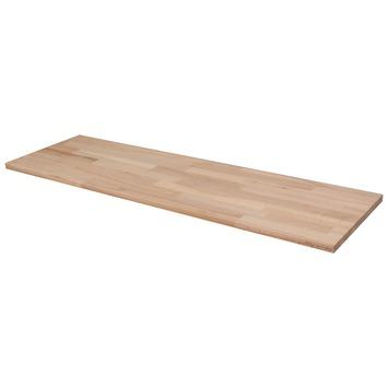 Panneau de charpenterie hêtre 100x30 cm 18 mm