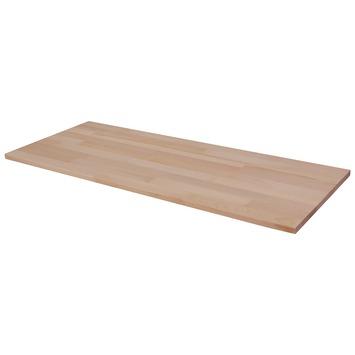 Panneau de charpenterie hêtre 100x40 cm 18 mm