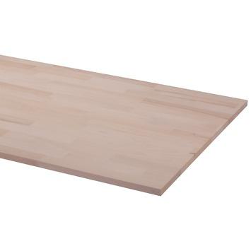 Panneau de charpenterie hêtre 200x60 cm 18 mm