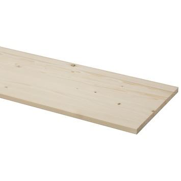 Panneau de charpenterie sapin 250x30 cm 18 mm