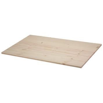 Panneau de charpenterie pin 100x60 cm 18 mm