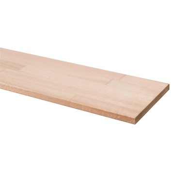 Timmerpaneel hardhout 200x20 cm 18 mm
