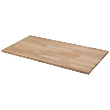 Panneau de charpenterie hêtre 100x50 cm 18 mm