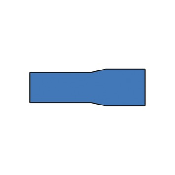 Carpoint kablelbverbinders 549 blauw 10 stuks