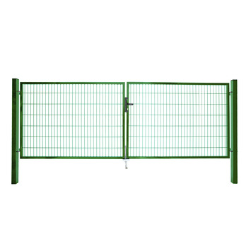 Dubbele poort Roma/Milano groen 2x 160x200 cm