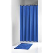 Rideau de douche Granada Sealskin PVC 180x200 cm bleu