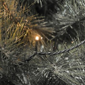 Kerstverlichting lichtsnoer 120 LEDlampjes extra warm wit voor buiten