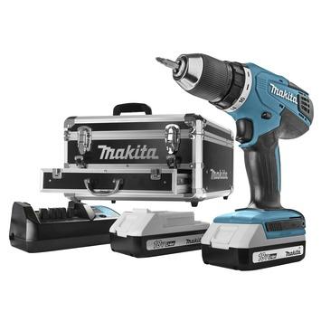 Makita accuboormachine 18V inclusief accessoireset 70-delig