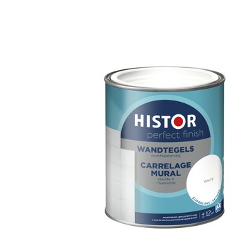 Histor Perfect finish wandtegels zijdeglans 750 ml white