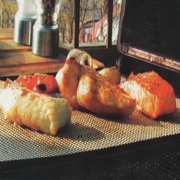 Grill Mat barbecue Rechthoek
