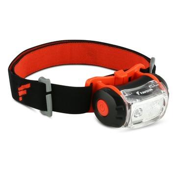 Lampe LED frontale Favour H0132 noir/rouge
