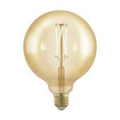 Eglo Golden Age LEDlamp globe 12,5 cm gold E27 320 Lm 4 W dimbaar