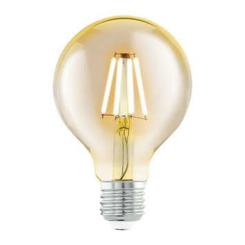 Eglo Vintage LED kogellamp E27 4 W = 30 W 330 lumen 80mm