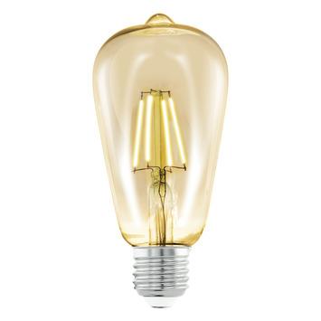Eglo Vintage LED peerlamp met tip E27 4 W = 25 W 220 lumen 64mm