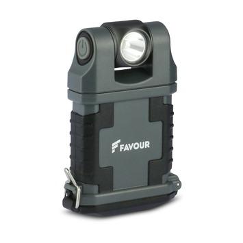 Favour LED werklamp T2342 zwart