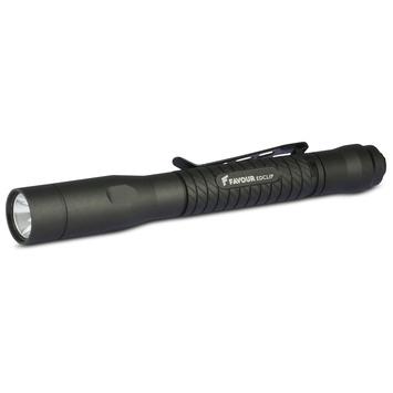 Lampe de poche LED stylo Favour LED T2222 noir