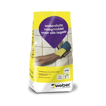 Mortier de jointoyage Weber 2 kg anthracite