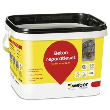 Mortier de ragréage Weber 5 kg