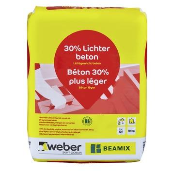 Béton préparé Beamix gris 18 kg