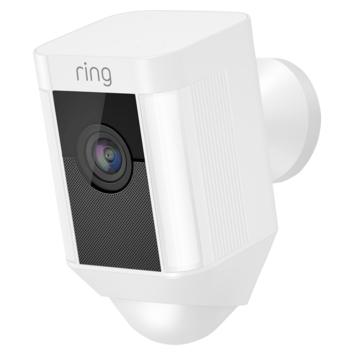 Ring Spotlight Cam bedraad wit