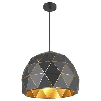 GAMMA hanglamp Niels zwart/goud
