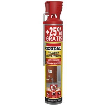 Mousse PU Soudal genius gun 600 ml + 150 ml