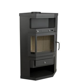 Poêle à bois Falun Livin' Flame 65x52x99 cm Ecodesign 2022
