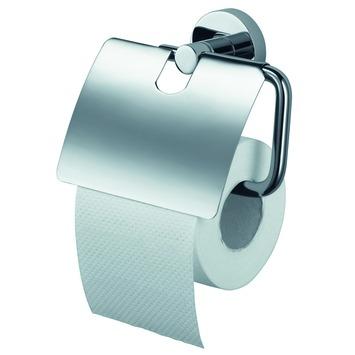 Haceka Kosmos wc rolhouder met klep chroom
