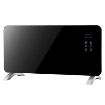 Panel heater zwart glas 1500 W