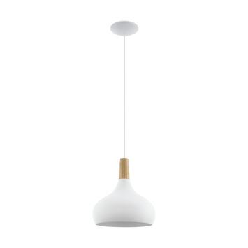 Eglo hanglamp Sabinar 280 mm wit