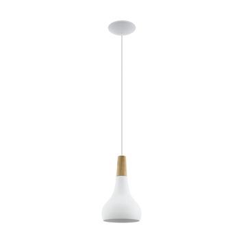 Eglo hanglamp Sabinar 180 mm wit