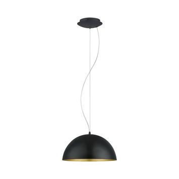 Eglo hanglamp Gaetano 1 zwart goud