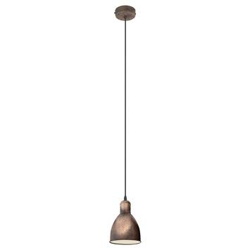 Eglo hanglamp Priddy 1 koper
